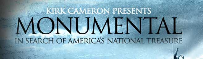 Kirk Cameron Presents 'Monumental' In Search of America's National Treasures